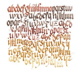 Letter practice copy