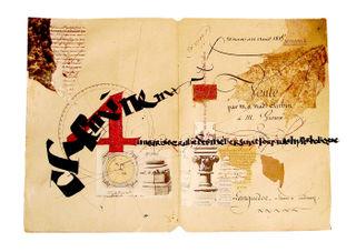Laurent Pflughaupt calligraphy