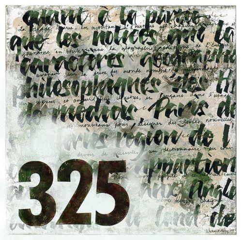 French text 325 w gesso