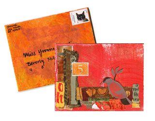 Bday card Yvonne