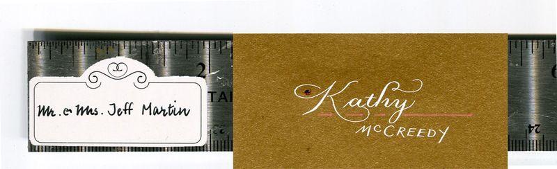 Name tag measures