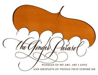 Ginger parasol blog header
