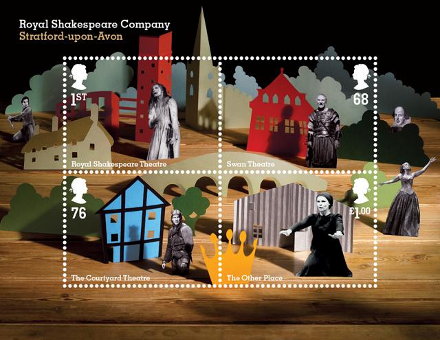 Hat trick stamps.RSC_Mini sheet