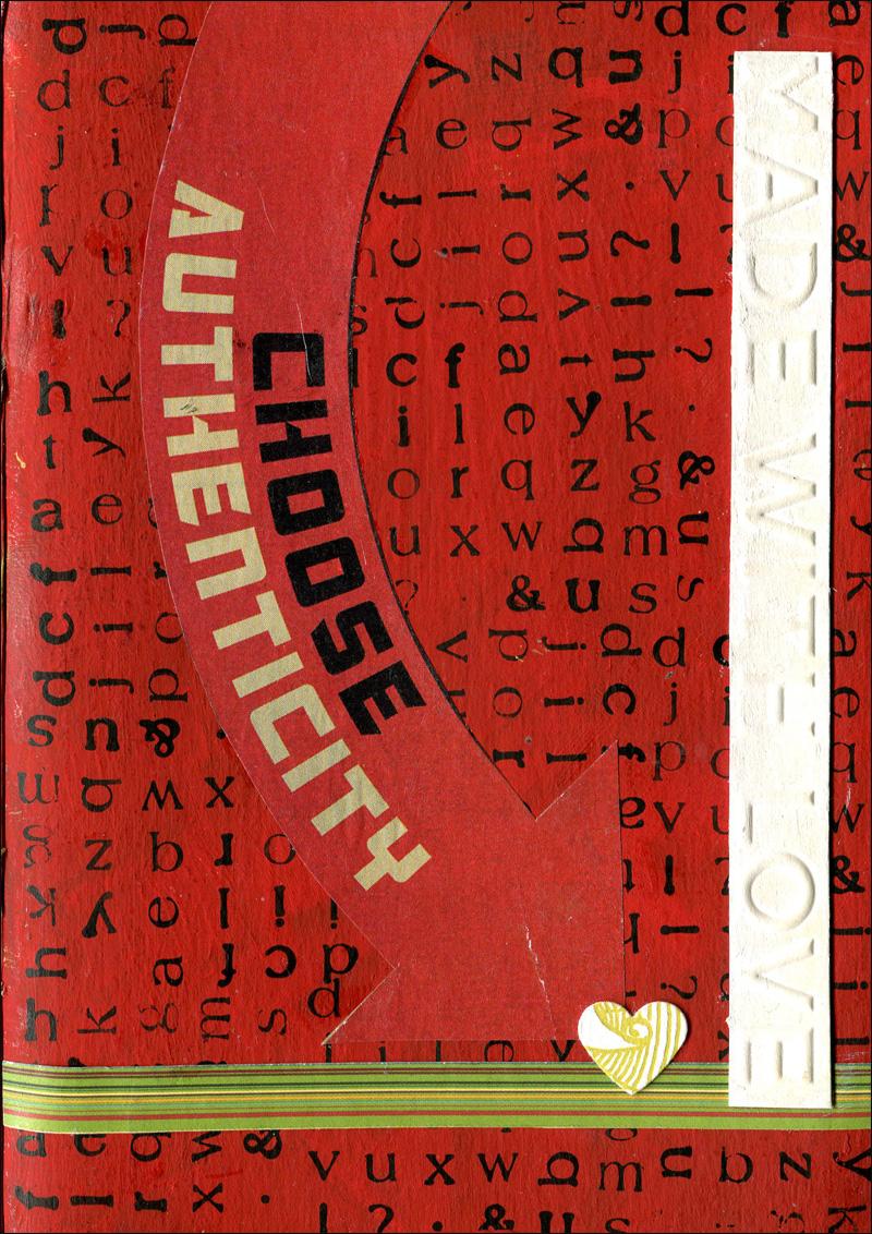 Sketchbook front cover