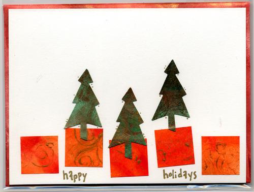 Tyvek holiday greeting card